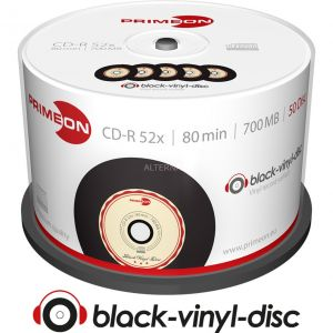 Primeon 2761108 -  CD-R 700 Mo 52x (50 pcs)
