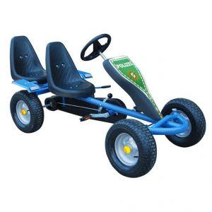 VidaXL Kart à pédales 2 sièges avec autocollants