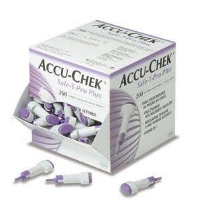 Accu-Chek Safe T Pro Plus pour usage unique (x 200)