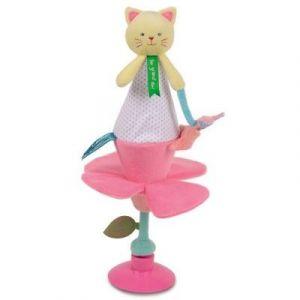 Doudou & cie Chat - Doudou marotte avec ventouse