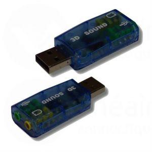 Lineaire PCD96 - Carte son USB avec reprise casque + micro
