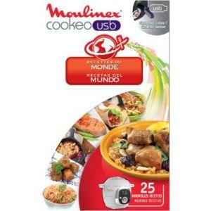 Moulinex XA600111 - Clé USB pour Cookeo 25 recettes du monde
