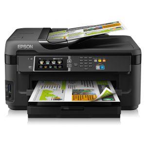 Epson WorkForce WF-7610DWF - Imprimante multifonctions jet d'encre couleur A3 Fax