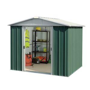 Yardmaster 87GEYZ - Abri de jardin en métal 4,68 m2