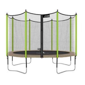 trampoline jumpi 360 avec cage de protection de kangui. Black Bedroom Furniture Sets. Home Design Ideas