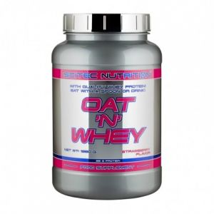 Scitec nutrition Oat'N'Whey 1380 g Strawberry