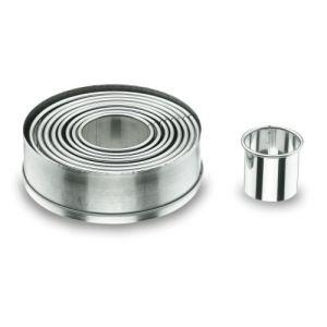 Lacor 9 emporte-pièces ronds unis