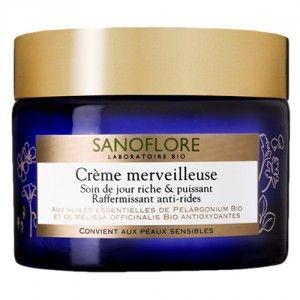 Sanoflore Crème merveilleuse - Soin de jour riche & puissant raffermissant anti-rides