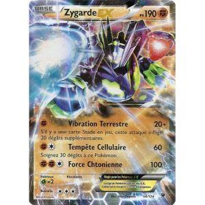 Asmodée Zygarde - Carte Pokemon 54/124 Ex Rare