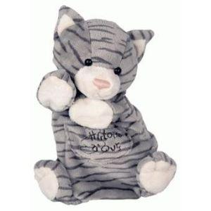 Histoire d'ours Marionnette Chat tigré 25 cm