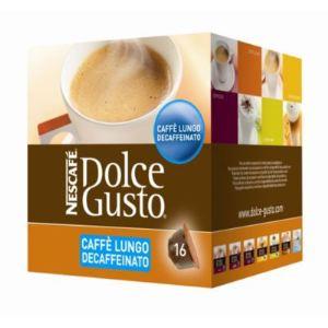 Nescafe 16 capsules Dolce Gusto Caffè Lungo Decaffeinato