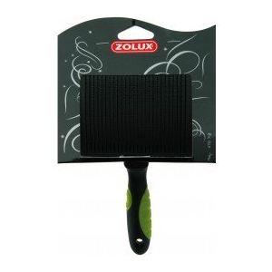 Zolux Brosse en plastique rétractable Slicker avec picots semi-durs