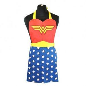 Tablier de cuisine logo Wonder Woman