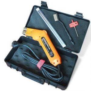 Timbertech STCU01 - Fer à découper le polystyrène 190W avec malette de transport et 2 lames de coupe droite