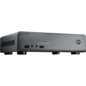 MS-Tech CI-70 - Boîtier Mini ITX Desktop alimentation externe 120 Watt