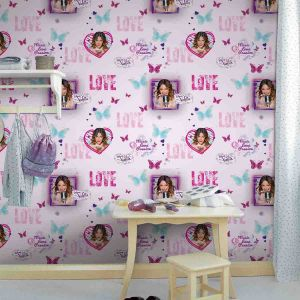 Decofun Papier peint Violetta Sing Love Disney Channel