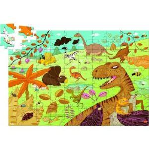 Vilac 2611 - Puzzle Dinosaures (100 pièces)