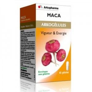 Arkopharma Arkogélules Maca - Vigueur et énergie