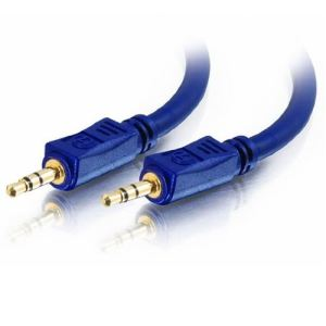 C2g 80296 - Câble Velocity audio mono 3.5mm M/M 2m