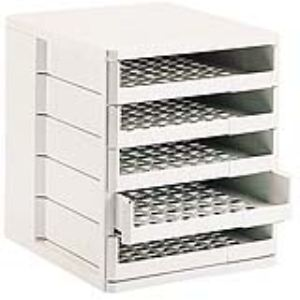 Esselte 24 638 - Module de classement 5 tiroirs ouverts (A4)