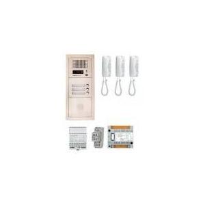 Aiphone GTA3E - Pack audio bus 3BP encastre avec module pour T25/VIGIK centrale 3 postes GT1D alim sans transfo gache (200301)