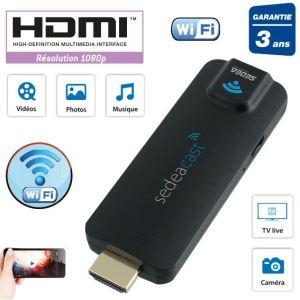 Sedea SEDEACAST - Clé HDMI multimédia WiFi
