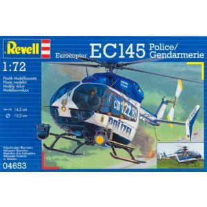 Revell 04653 - Eurocopter EC145 Police Gendarmerie - Maquette échelle 1:72