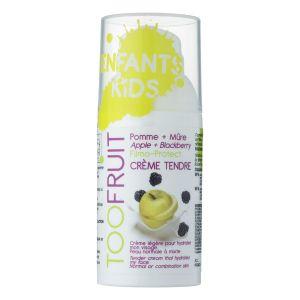 Toofruit Crème Tendre hydratante pour visage - Pomme / mûre