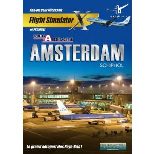 Mega Airport Amsterdam X - Add-on pour FS X et FS 2004 sur PC