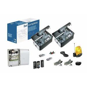 Came 001U1921FR - Kit complet Frog AE 230V encodeur portail 2 battants 2 émetteurs 868 MHz max 3.5 m
