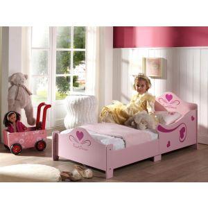 Someo Lit Little Princesse avec sommier (70 x 140 cm)