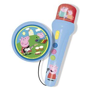 Reig Musicales 2321 - Microphone et enceinte Peppa Pig