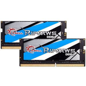 G.Skill F4-2666C18D-16GRS - Barrette mémoire RipJaws Series SO-DIMM 16 Go (2 x 8 Go) DDR4 2666 MHz CL18