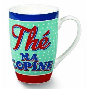 Natives Mug slogan Thé ma copine en céramique
