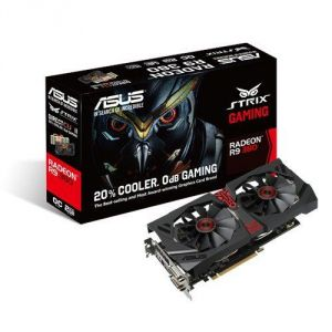 Asus STRIX-R9380X-OC4G-GAMING - Carte graphique Radeon R9 380X 4 Go GDDR5 PCI-E