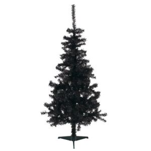 Balti - Sapin de Noël artificiel noir (150 cm)