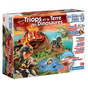 Clementoni Triops et la terre des dinosaures