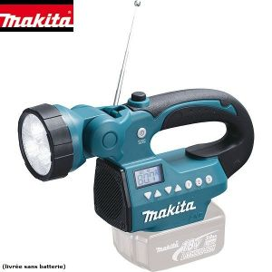 Makita BMR050 - Lampe torche LED avec radio AM/FM