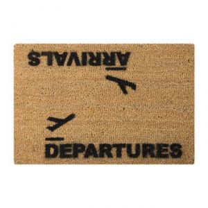 """Artsy Doormats Paillasson """"Arrivées / Départs"""""""
