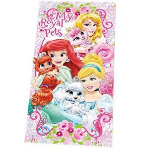 Drap de bain Disney Princesses Palace Pets (70 x 140 cm)