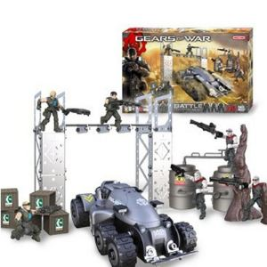 Meccano 850450 - Gears of war : Battle Locusts vs Delta Squad