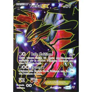 Asmodée Yveltal Ex - Carte Pokémon Full Art XY