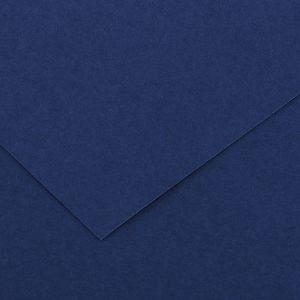 Canson 200040061 - Feuille Iris Vivaldi 50x65 120g/m², coloris outremer 24