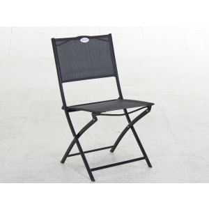 Hesperide Chaise de jardin pliante Les Compatibles en acier et texaline