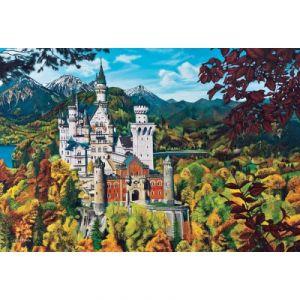 Cobble hill Le Château de Neuschwanstein - Puzzle Allemagne 2000 pièces