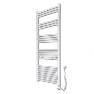 VidaXL 140876 - Radiateur sèche-serviettes vertical avec thermostat 500 x 1424 mm