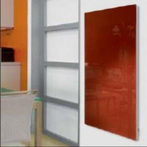 Fondis VFIV63ER1500 - Radiateur électrique Solaris vertical avec thermostat intégré 1500 Watts