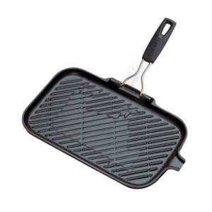 Le Creuset Grill rectangle en fonte 36 cm compatible tous feux dont induction