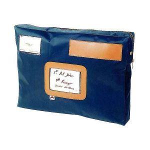 Pochette navette 32x42x5cm bleu