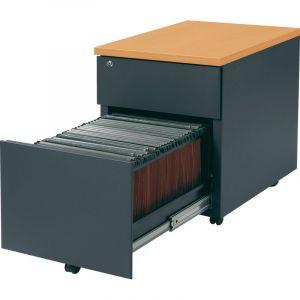 caisson 3 tiroirs avec dossiers suspendus comparer 79 offres. Black Bedroom Furniture Sets. Home Design Ideas